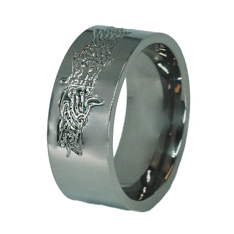 Dacian Dragon Titanium Ring