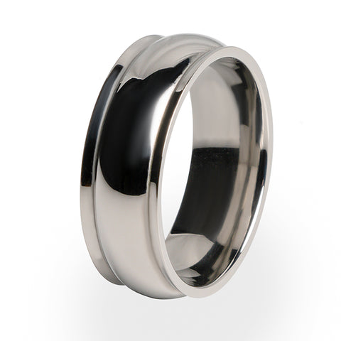 Hummingbird | Mens Titanium Ring
