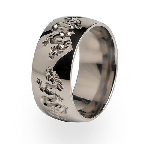 Liung Dome Titanium Ring
