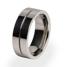 Mojo Titanium ring for Men and women. Comfort fit and lifetime warranty.