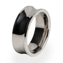 Phase wedding ring for men. Titanium ring with comfort fit and lifetime warranty.