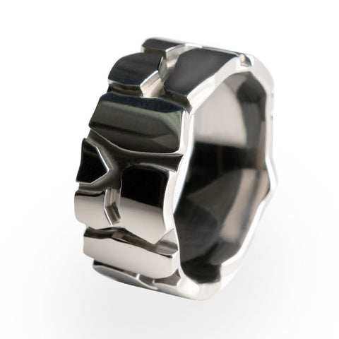 Rocky Road Titanium Ring