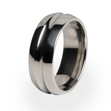 Beautiful and simple Titanium ring. A perfect wedding ring or gift from or too yourself.