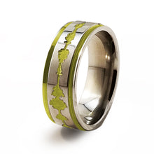 Soundwave Samurai Gold Titanium ring