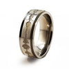 Soundwave Samurai Natural Titanium Ring