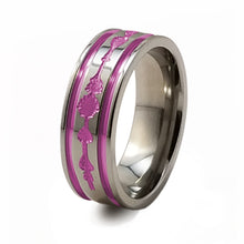 soundwave music titanium ring mens and womens