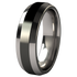 Ascent - Black Two Toned-none-Titanium Rings