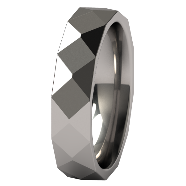 Burlington-none-Titanium Rings