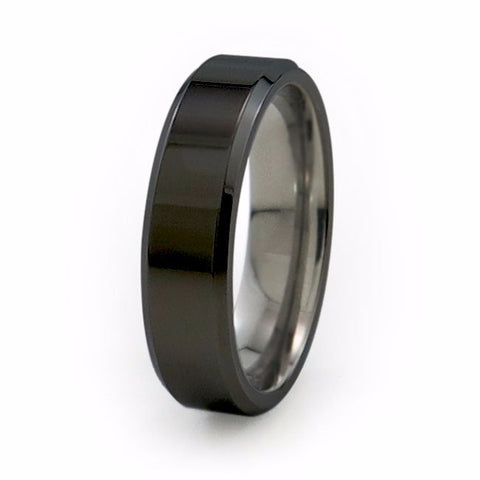 Apex | Black Titanium Ring