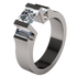 Cathedrale Multi Stone Canadian Diamond-none-Titanium Rings