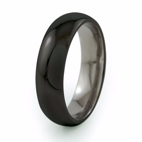 Eclipse | Black Titanium Ring