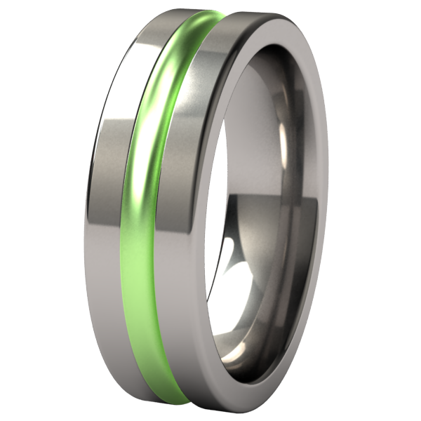 Chimera - Colored-none-Titanium Rings