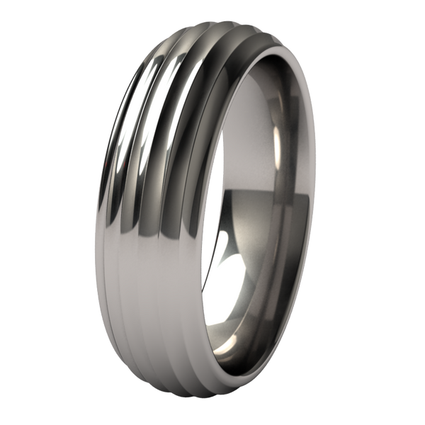 Crescendo-none-Titanium Rings