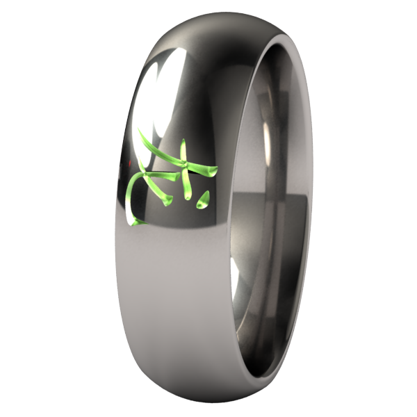 Dragon - Colored-none-Titanium Rings