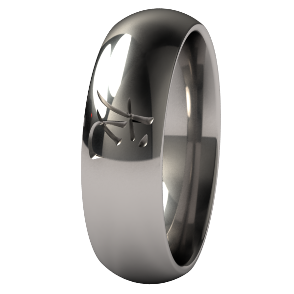 Dragon-none-Titanium Rings