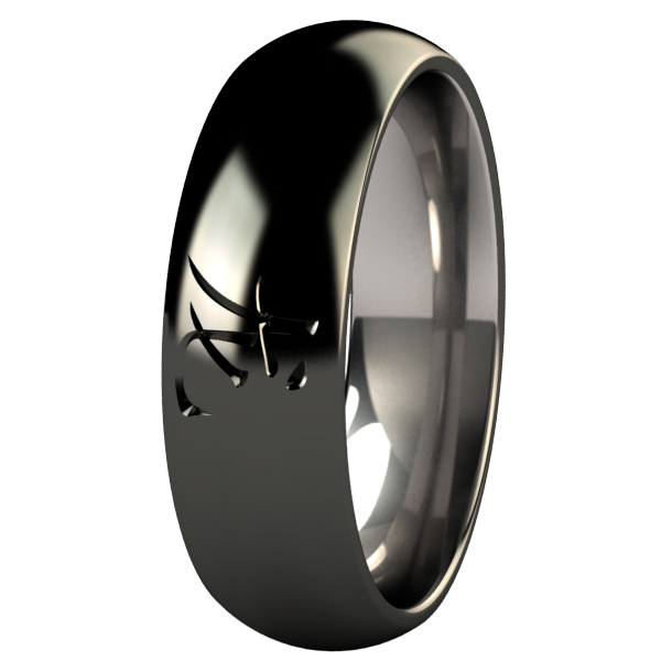 Dragon Black-none-Titanium Rings