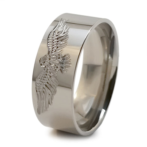 Eagle Stealth Titanium Ring
