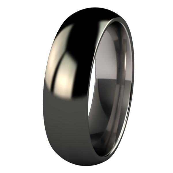 Eclipse - Black-none-Titanium Rings