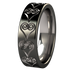 Emotions Black 2Tone-none-Titanium Rings