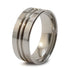 Equinox Stealth Titanium Ring-Ring - Template 21-Titanium Rings