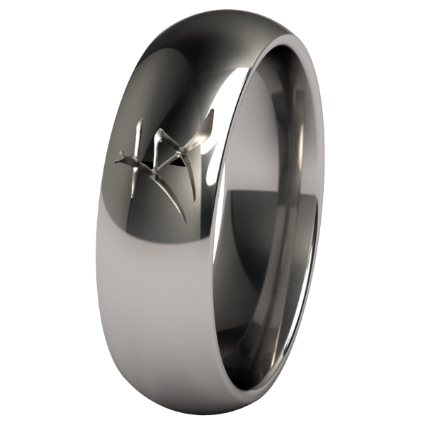 Friend-none-Titanium Rings