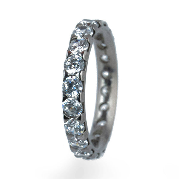 Full Eternity Titanium Ring-Ring - Template 17-Titanium Rings
