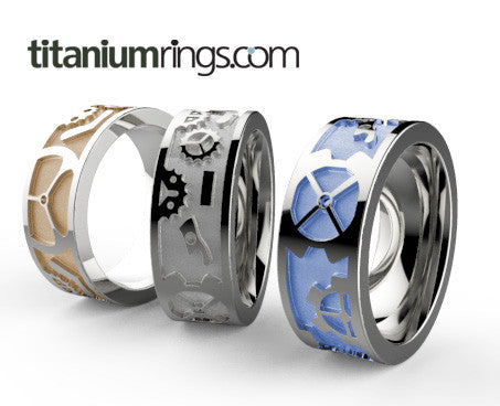 steam-none-Titanium Rings