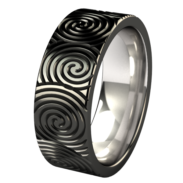 Helixa Black-none-Titanium Rings