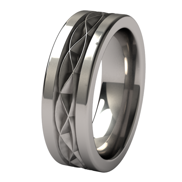 Hypnos-none-Titanium Rings