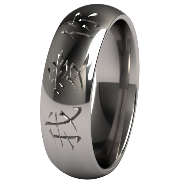 I Love You-none-Titanium Rings