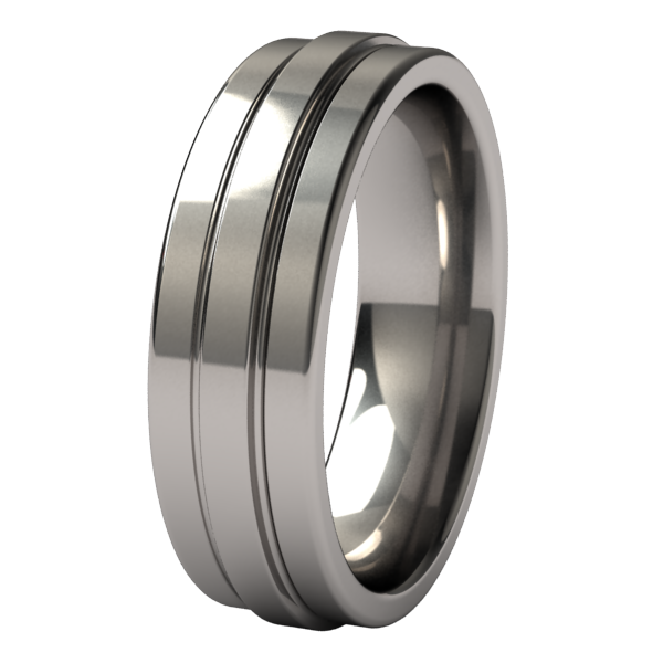 Kinetic-none-Titanium Rings