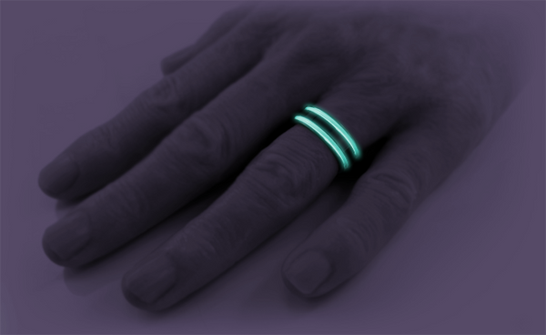 Abyss - Black & Colored-none-Titanium Rings