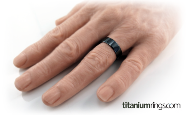 Stealth | Black Titanium Ring