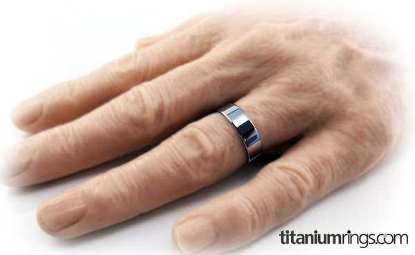 Stealth Facia Titanium Ring