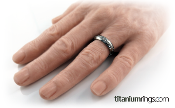 The One - Colored-none-Titanium Rings