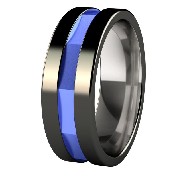 Mekkanik - Black & Colored-none-Titanium Rings