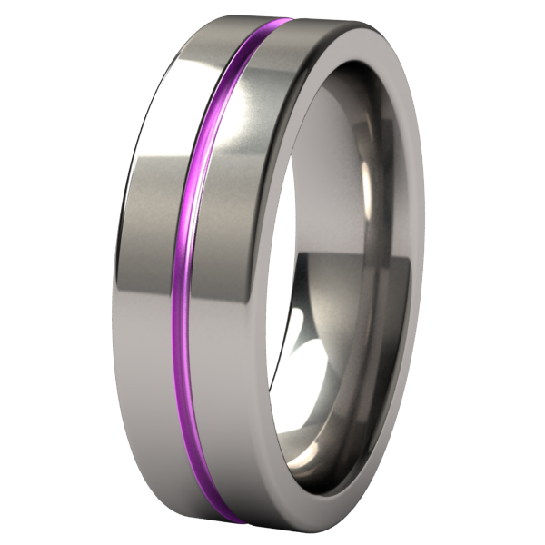 Mojo - Colored-none-Titanium Rings