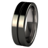 Mojo - Black-none-Titanium Rings