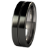 Mojo - Black Two Toned-none-Titanium Rings