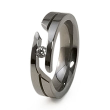 Mens Womens Titanium Ring