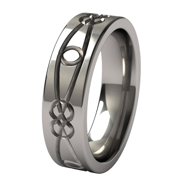 Morgane Lite-none-Titanium Rings