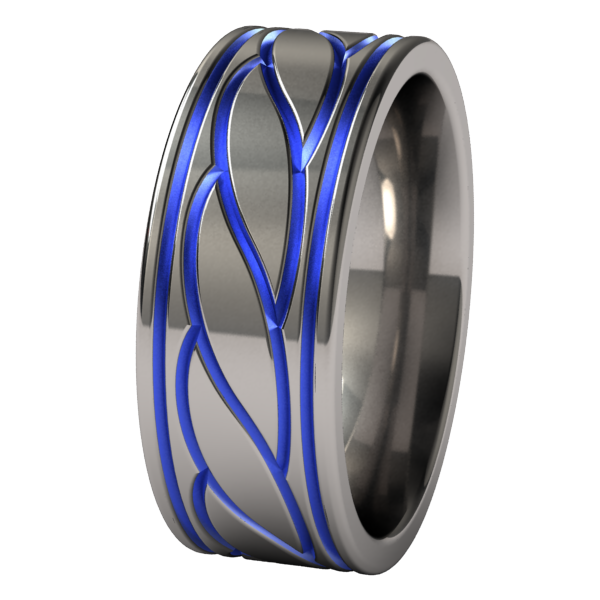 Nautica - Colored-none-Titanium Rings