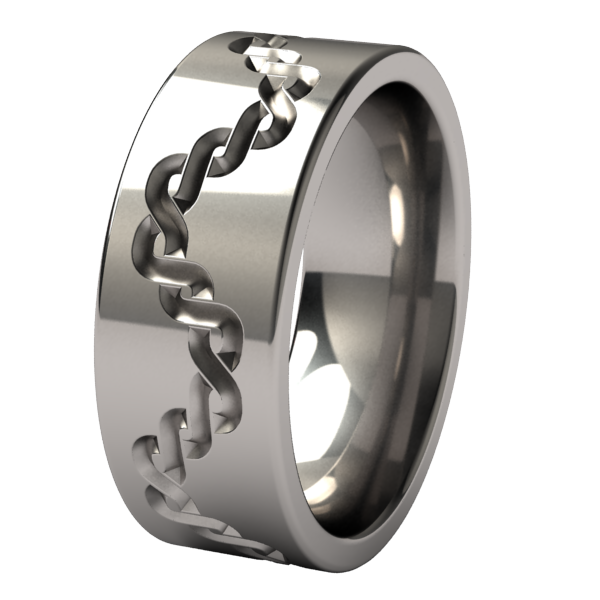 Pallas-none-Titanium Rings