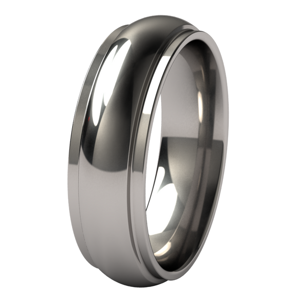 Partial Eclipse-none-Titanium Rings