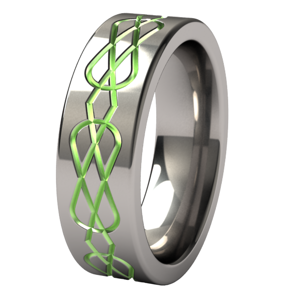 Percival Lite - Colored-none-Titanium Rings