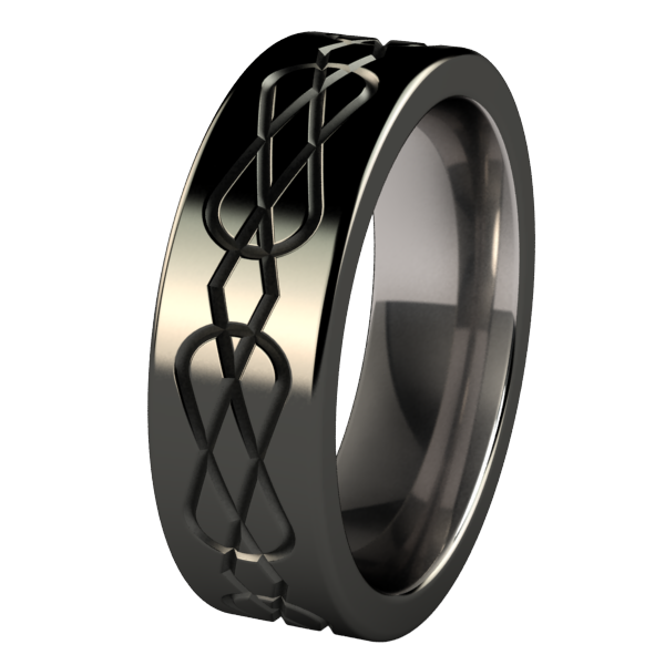 Percival Lite - Black-none-Titanium Rings