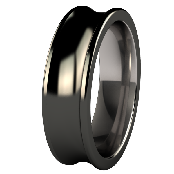 Phase - Black-none-Titanium Rings