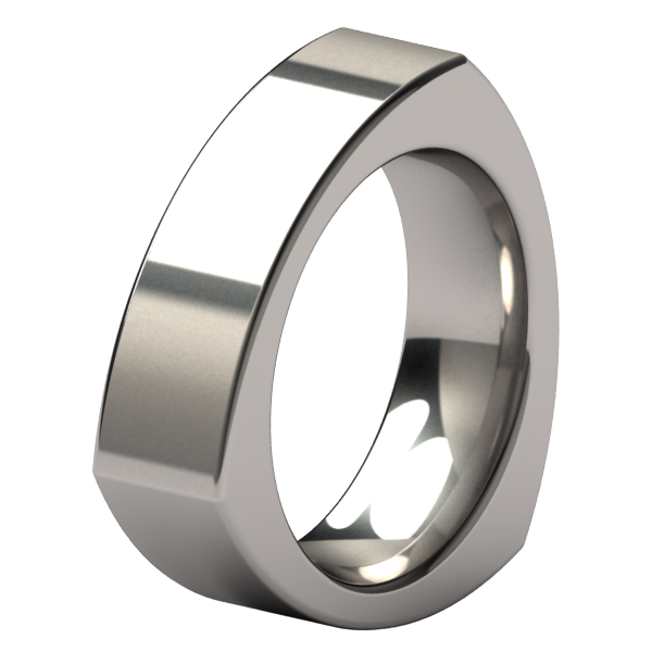 Prism-none-Titanium Rings