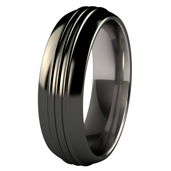 Roadster Black-none-Titanium Rings