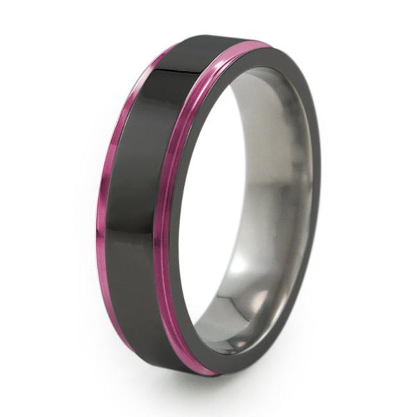 Samurai | Black Titanium Ring